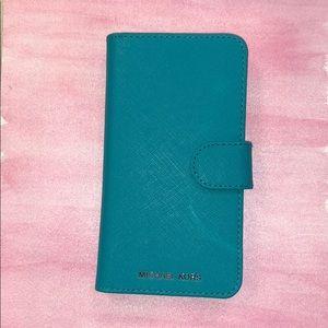 Michael Kors IPhone X/XS wallet case